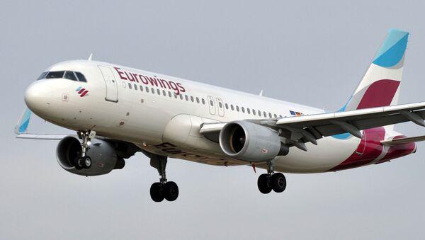 Avión de Eurowings - Sputnik Mundo