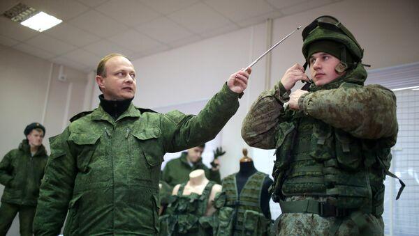 Equipamiento del 'soldado del futuro' Rátnik (archivo) - Sputnik Mundo