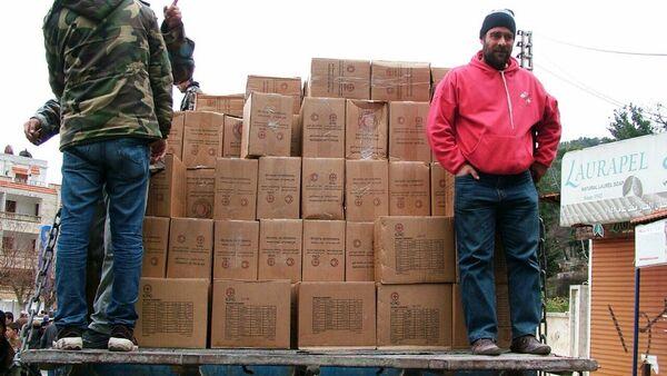 Rusia entrega ayuda humanitaria a Siria - Sputnik Mundo