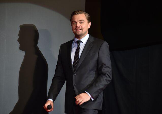 El actor Leonardo Di Caprio