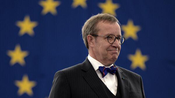 Hendrik Ilves, presidente de Estonia - Sputnik Mundo