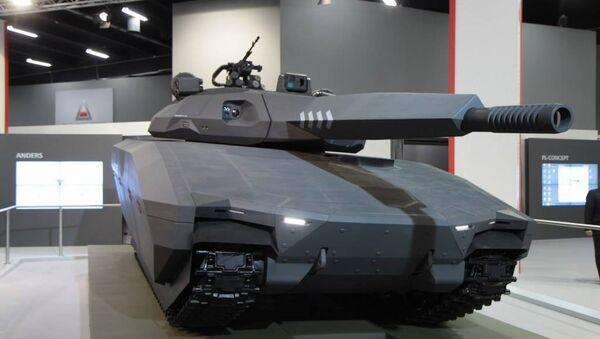 El tanque Pl-01 Anders - Sputnik Mundo
