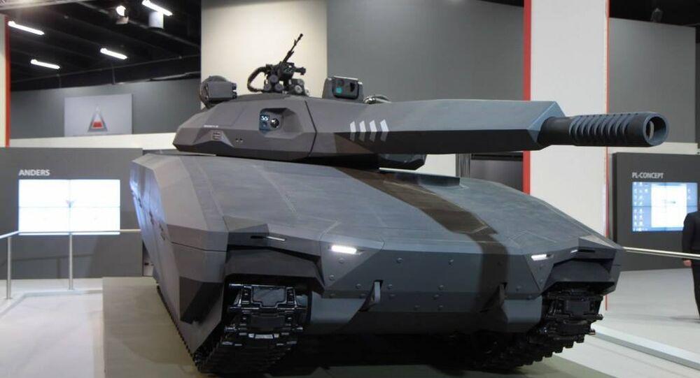 El tanque Pl-01 Anders