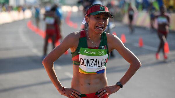 Guadalupe González, marchista mexicana - Sputnik Mundo