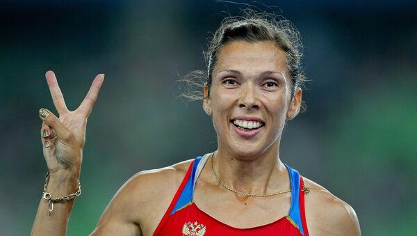 Anastasia Kapachinskaya, atleta rusa - Sputnik Mundo
