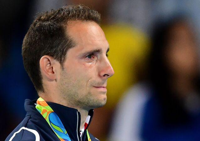 Las lágrimas de Renaud Lavillenie