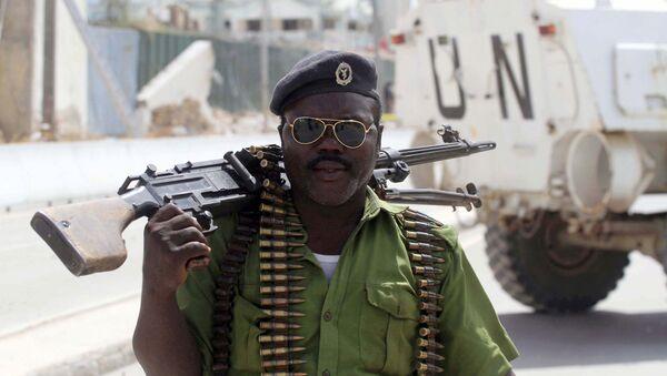 La policía de Somalia - Sputnik Mundo
