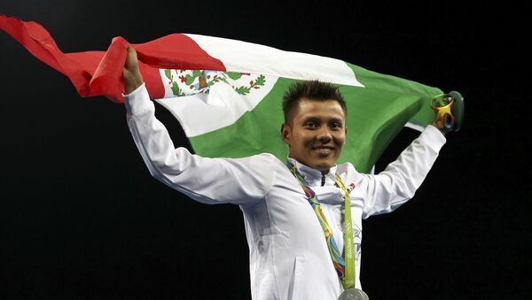 Germán Sánchez, clavadista mexicano - Sputnik Mundo