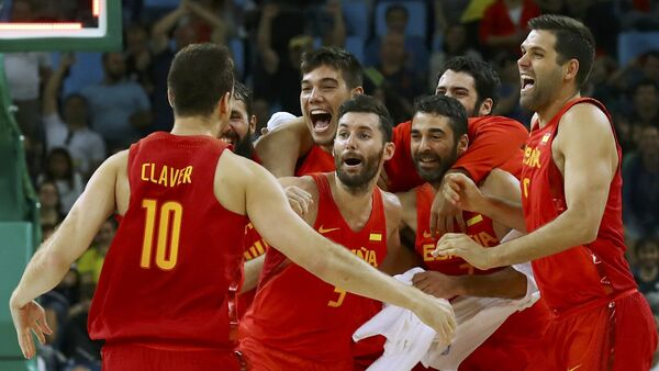 Selección masculina española de baloncesto - Sputnik Mundo