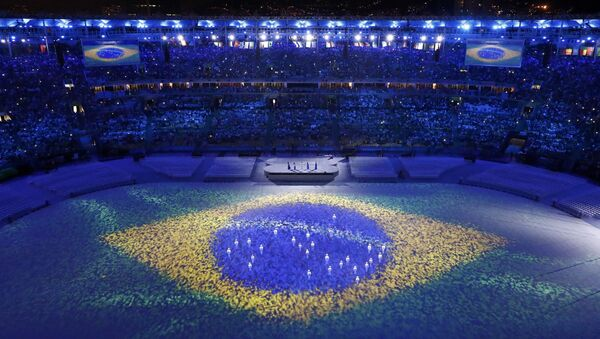 Ceremonia de clausura de los JJOO de Río de Janeiro en 2016 (archivo) - Sputnik Mundo