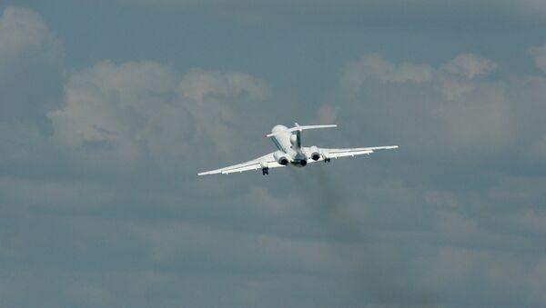 Un avión Ту-154М - Sputnik Mundo