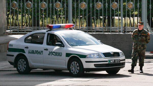Policía de Georgia - Sputnik Mundo