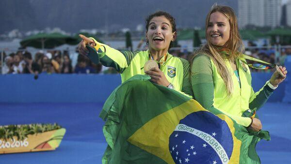 Deportistas brasileñas - Sputnik Mundo