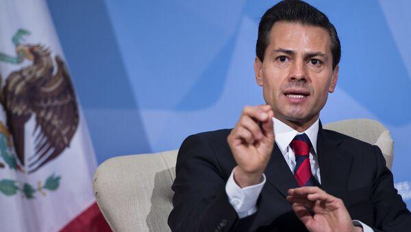 Enrique Peña Nieto - Sputnik Mundo