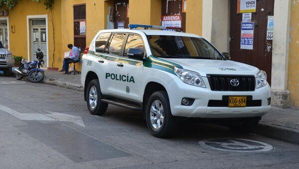Un coche policial en Colombia (archivo) - Sputnik Mundo