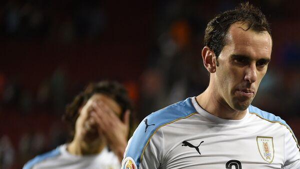 Diego Godín, futbolista uruguayo - Sputnik Mundo