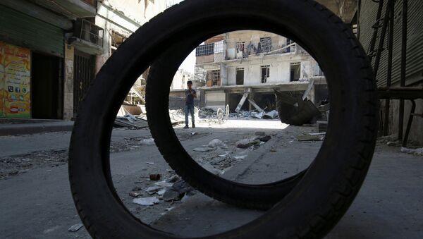 Situación en Alepo (archivo) - Sputnik Mundo