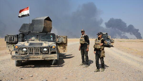 Las tropas de Irak cerca de Al Qayara - Sputnik Mundo