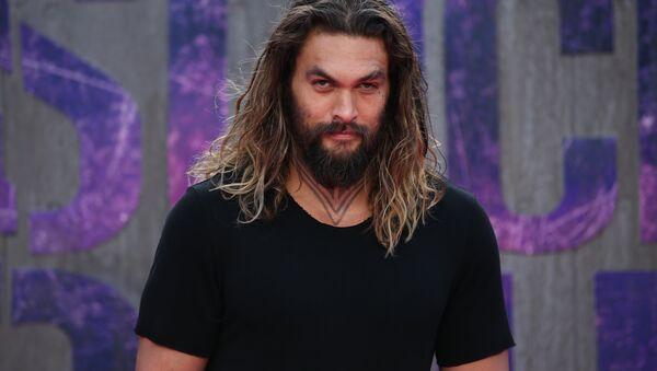 Jason Momoa, el actor que interpreta al jefe bárbaro Khal Drogo en la aclamada serie televisiva Juego de Tronos - Sputnik Mundo