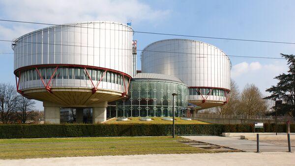 La sede del Tribunal Europeo de Derechos Humanos (archivo) - Sputnik Mundo