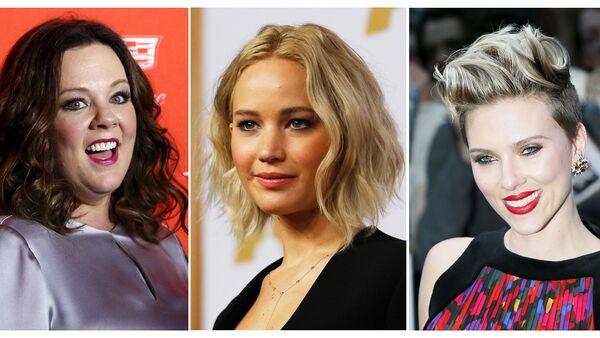 Melissa McCarthy, Jennifer Lawrence, Scarlett Johansson - Sputnik Mundo