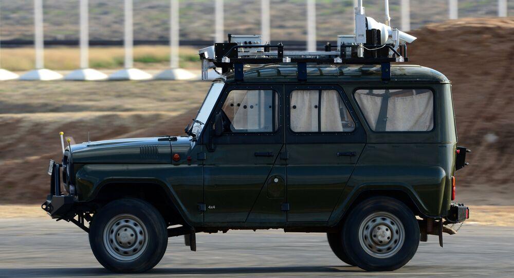 Prototipo robotizado de UAZ
