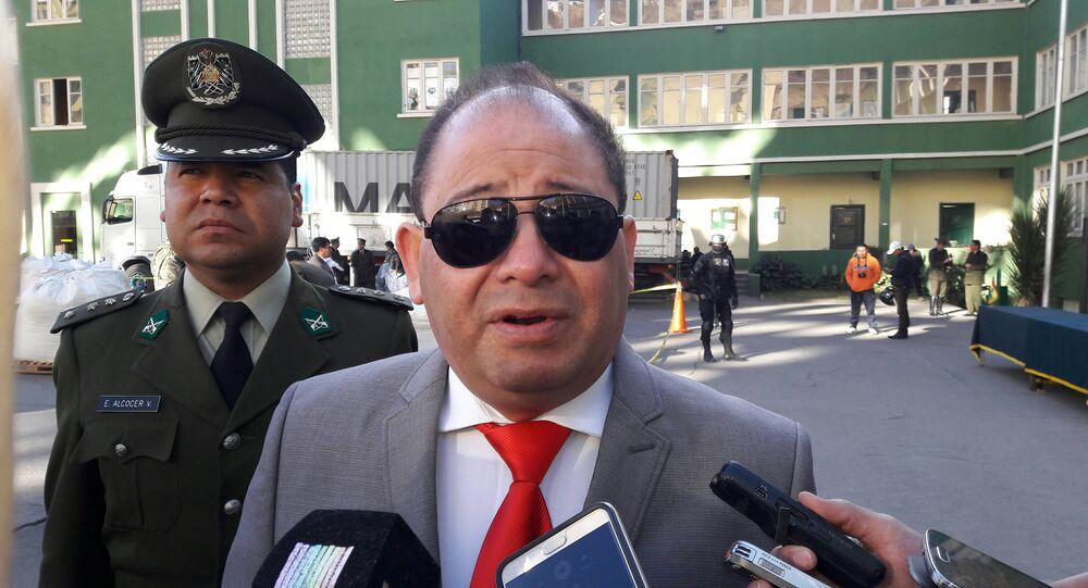 Carlos Romero, exministro de Gobierno de Bolivia (archivo)