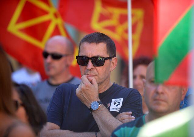 Arnaldo Otegi, líder independentista vasco