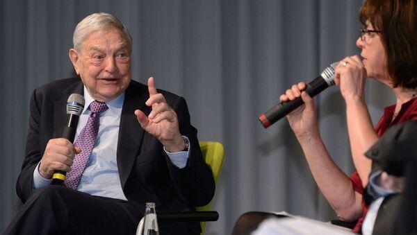 George Soros - Sputnik Mundo