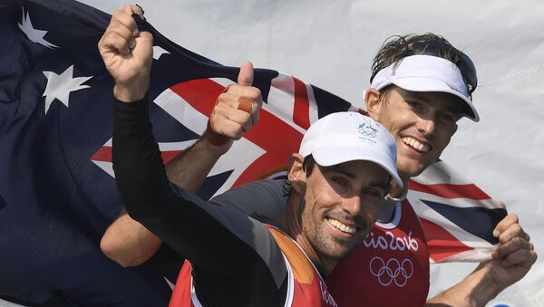 Los atletas de Australia en Río - Sputnik Mundo