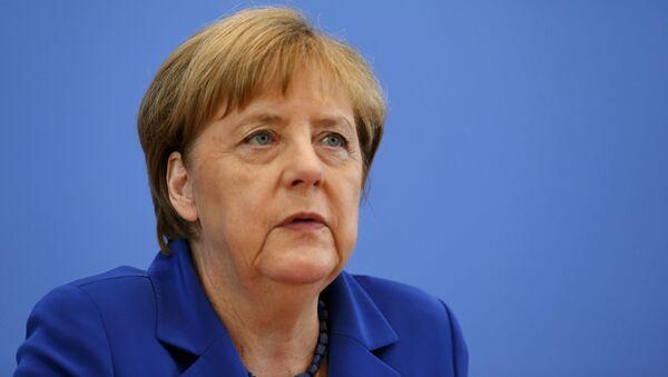 Ángela Merkel, canciller de Alemania - Sputnik Mundo