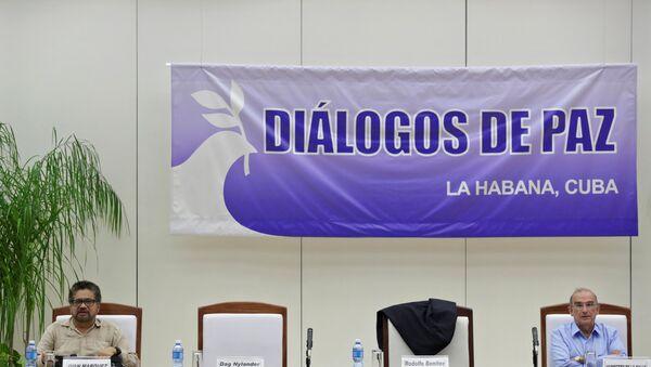 Acuerdo de paz entre Farc y Gobierno de Colombia - Sputnik Mundo