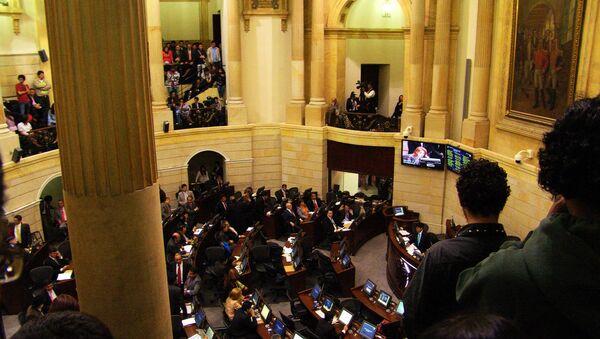 Senado de Colombia - Sputnik Mundo