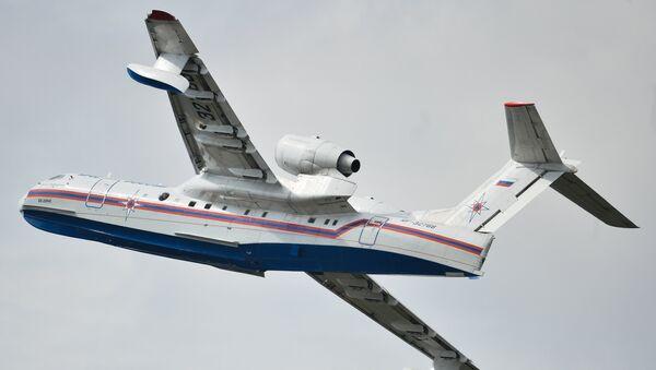 Avión anfibio ruso Beriev Be-200 (archivo) - Sputnik Mundo