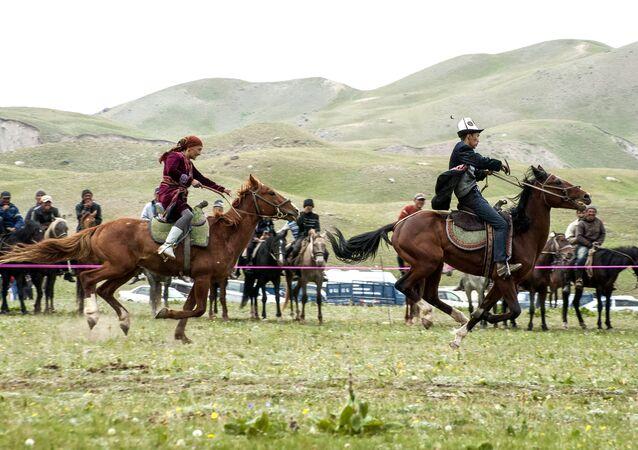 La competición en caballo
