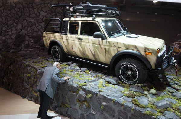 Sorpresas y novedades en el Salón Internacional del Automóvil de Moscú 2016 - Sputnik Mundo