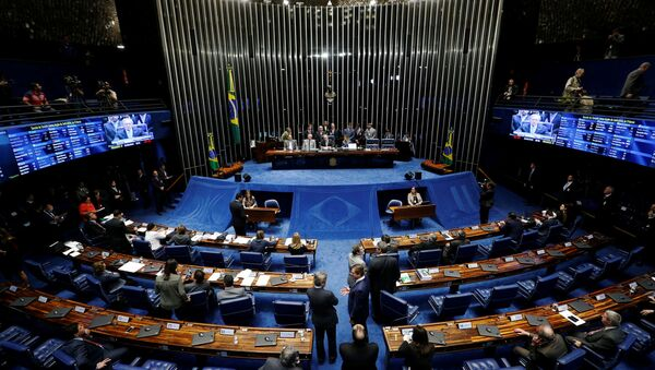 Senado de Brasil - Sputnik Mundo