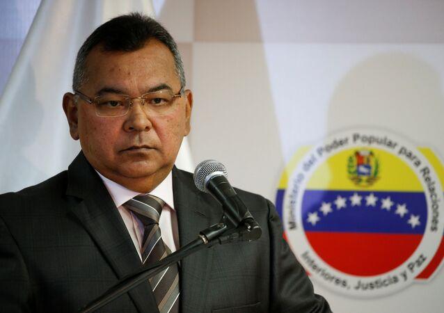 Néstor Reverol, ministro de Interior, Justicia y Paz de Venezuela (archivo)