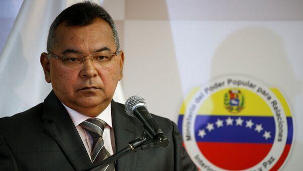 Néstor Reverol, ministro de Relaciones Interiores, Justicia y Paz de Venezuela - Sputnik Mundo