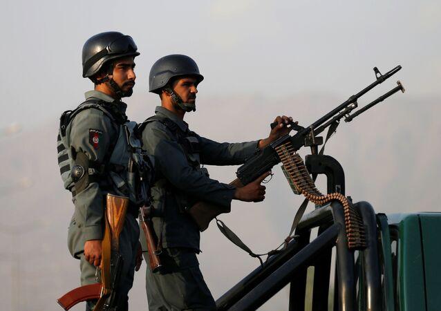 Policía de Afganistán (imagen referencial)