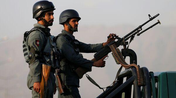 Policía de Afganistán (archivo) - Sputnik Mundo