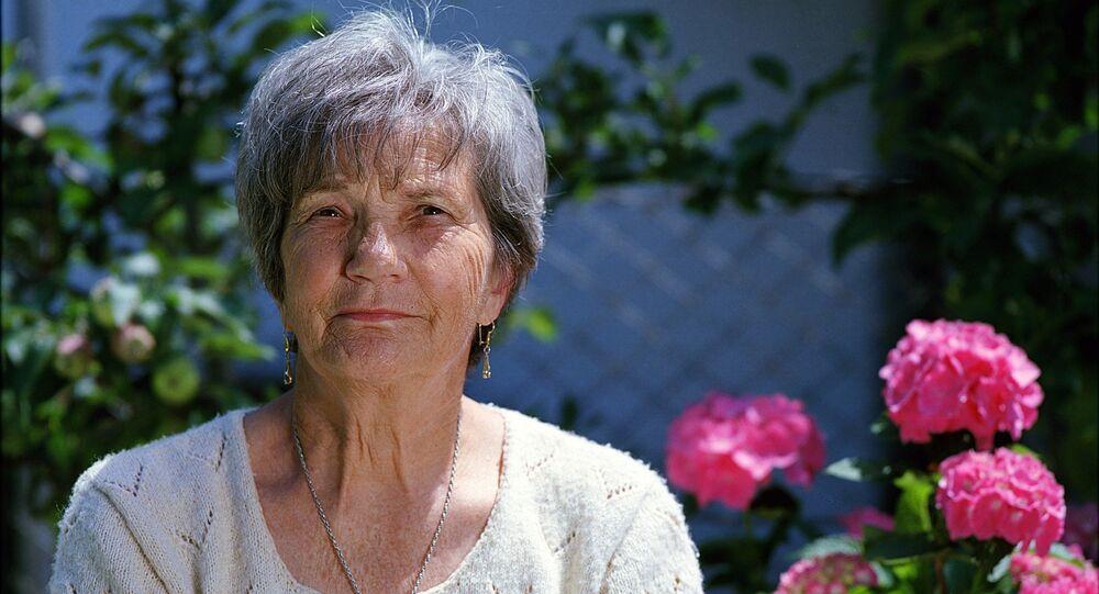 Una anciana (Archivo)