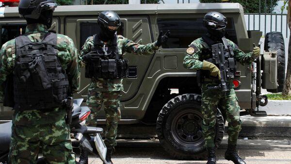 La policía tailandesa - Sputnik Mundo