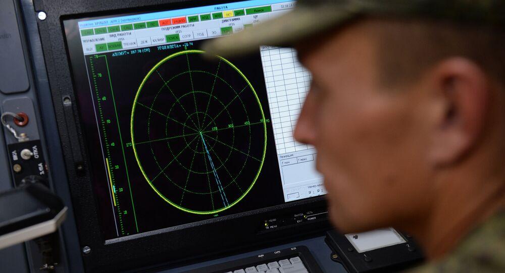 Maniobras de las unidades de guerra electrónica rusas