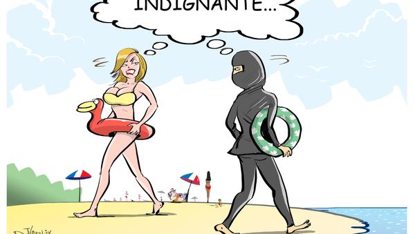 Burkini vs. bikini, un polémico duelo al sol - Sputnik Mundo