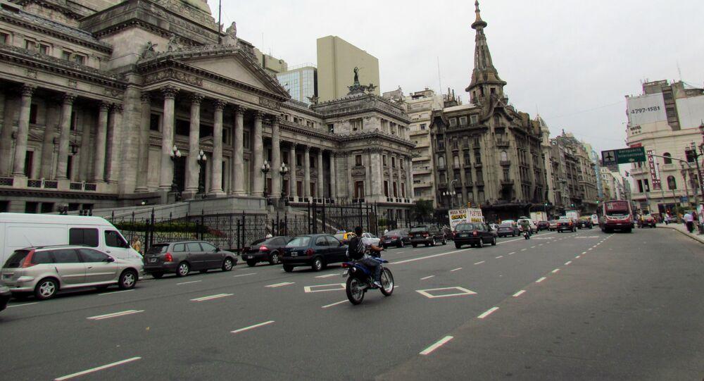 Buenos Aires, la capital de Argentina (archivo)