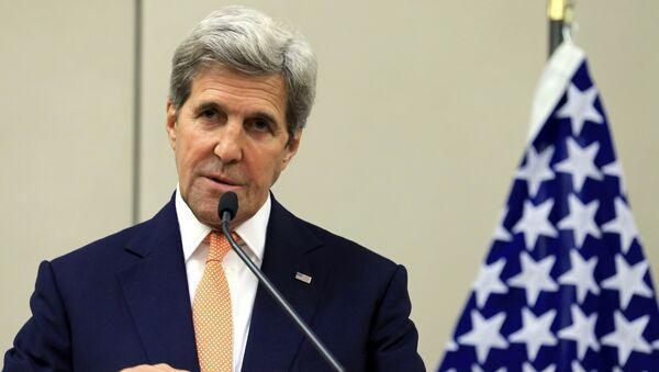 John Kerry, secretario de Estado norteamericano - Sputnik Mundo