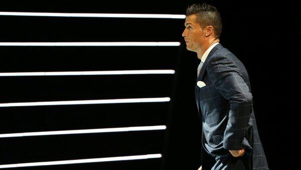 Cristiano Ronaldo, el delantero portugués del Real Madrid (archivo) - Sputnik Mundo