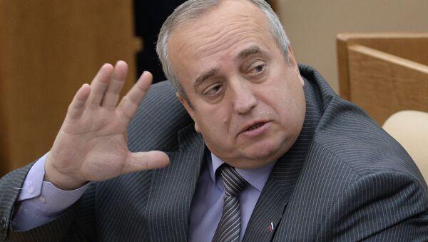 Franz Klintsevich, primer vicepresidente del Comité de Defensa y Seguridad del Consejo de la Federación de Rusia - Sputnik Mundo