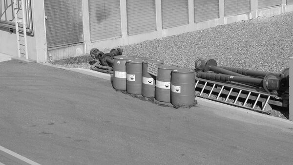 Barrels with chlorine - Sputnik Mundo